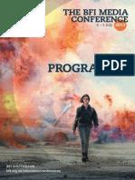 Bfi Media Conference Programme 1013 08