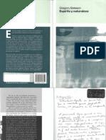 147459464 Bateson Gregory Espiritu y Naturaleza PDF