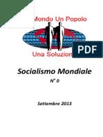 Socialismo Mondiale n0