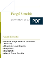 Fungal Sinusitis1