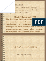 Fungal Sinusitis Lecture