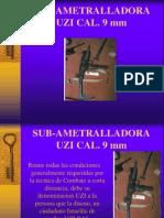 Sub Ametralladora+Uzi+Cal.+9+Mm