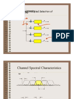 Channel Spectral Characteristics