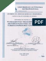 FUNDAMENTOS TERMODINAMICOS PARA EL DISEÑO DE TURBO CENTRIFUGOS