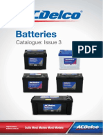ACDelco Batteries Catalogue 22-64P