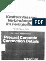 Precast Concrete Connection Details (Structural Design Manual)