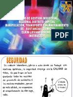 MANIPULACION,TRANSPORTE Y ALMACENAMIENTO