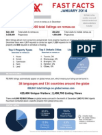 REMAX Fast Facts January 2014