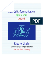 Lecture 9 -Fiber Optic Communication - Wavewguide