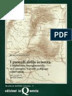 1993 Moreno Baccichet I pascoli della scienza. L'alpinismo risorgimentale in Cansiglio, Cavallo e Alpago (1867-1902)