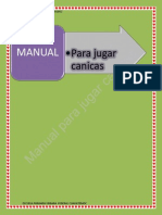 Manual Para Jugar Canicas