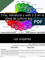 Cine, Literatura y Web 2.0