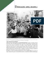 Los niños del Holocausto antes, durante y después