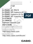 Fx-9750GII Soft E