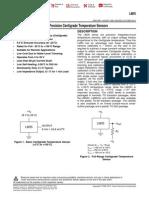 Temperature Analog Sensor LM35