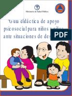 Guia Didactica de Apoyo Psicosocial Para Ninos y Ninas Ante Situaciones de Desastres