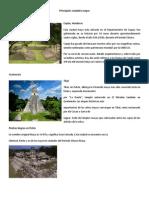Principales Ciudades Mayas