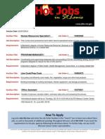 Hot Jobs list 02-07-2014 (1)