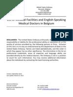 Doctor List 2010 Update 1