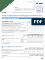 2014 Francelangue en Prices Bordeaux
