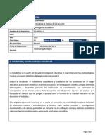 Programa de Asignatura Estadistica Descriptiva