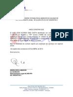 Modelo Carta Laboral
