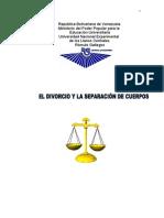 71306578 El Divorcio y Separacion de Cuerpos