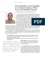 MDMA-Assisted Psychotherapy in Treatment of Post Traumatic Stress Disorder-Mithoefer