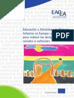 Educacion y Atencion a La Primera Infancia en Europa, Un Medio Para Reducir Las Desigualdades Sociales y Culturales