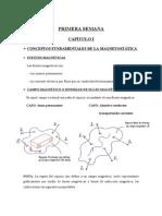 TEORIA MAGNETOSTÁTICA Y CONCEPTOS DE CIRCUITOS MAGNÉTICOS