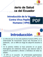 Vacuna Hpv Implementacion