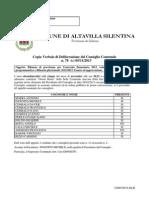 Bilancio Di Previsione 2013 - Comune di Altavilla Silentina