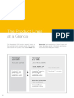 Product Range at a Glance