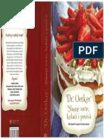 Dr. Oetker, slasne torte kolači i peciva
