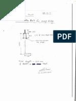 Details of Foundation Bolt
