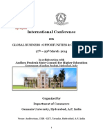 Brouchure - International Conference