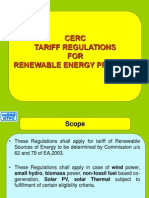 Tariff Regulation for Renewable Energy Sourceswith Bar 18.10.2010