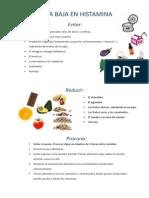 Dieta Histamina