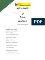 El Trueno Apacible - Max Lucado