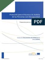 Protocolo de Acceso a la Justicia para Personas con Discapacidad - España