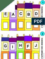 jeu à plastifier alphabet