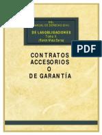 Contratos Accesorios o de Garantía -Meza Barros