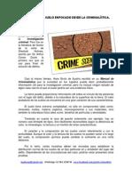 001 El Estudio Del Suelo Enfocado Desde La Criminalistica