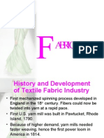 History and Development of Textile Fabric Industry