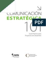 Comunicacion Estrategica Para Proyectos de Desarrollo
