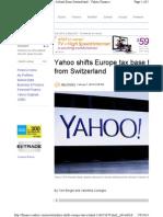 Yahoo Finance Story