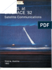 The U.S at UNISPACE '82 Satellite Communications Booklet