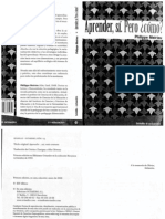 Phillippe Meirieu - aprender sí pero cómo.pdf