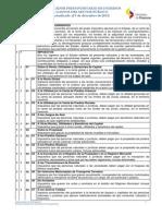 Clasificador Presupuestario Actualizado Al 9 Diciembre 2013