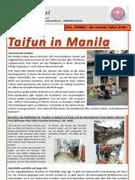 Taifun in Manila - Ketsana (German/Deutsch)